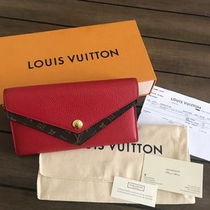 Louis Vuitton Portefeuille Two-fold Wallet